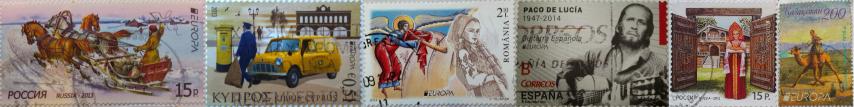 Europa známky (Small)