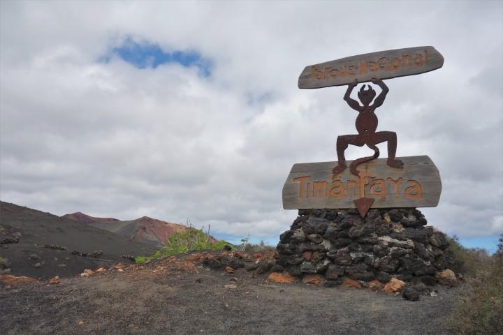 Lanzarote, symbol národního parku - čert