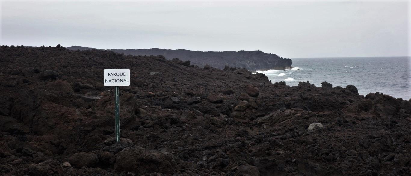 Lanzarote, začátek NP Timanfaya