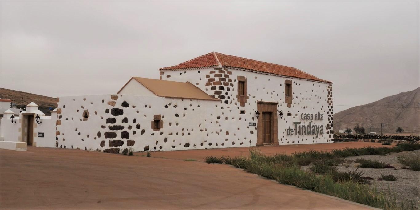 Skanzen ve vesnici Tefía