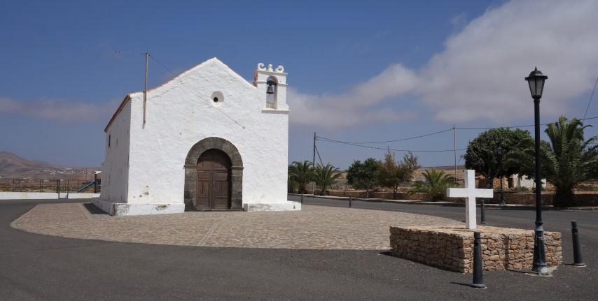 Kostelík v Llanos de la Concepcion
