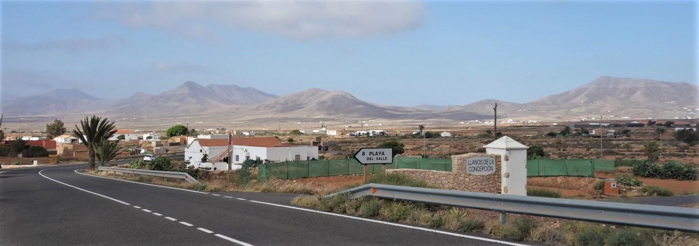 Na stopu za Llanos de la Concepcion