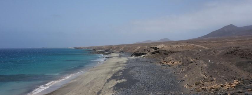 Nádherné a liduprázdné pláže střídají skaliska poloostrova Jandía