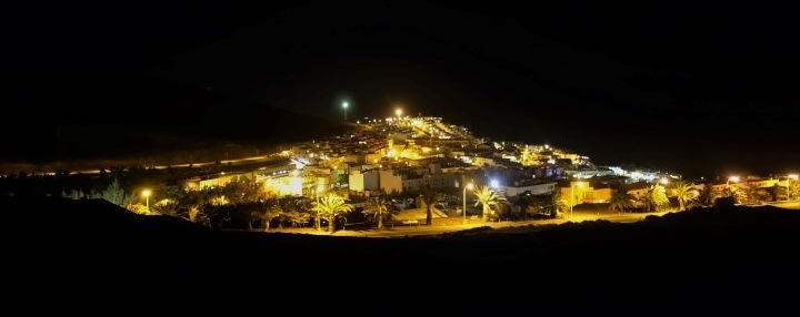 Morro Jable v noci
