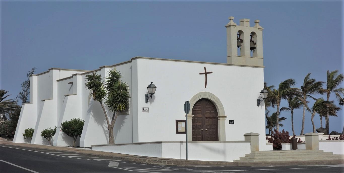 Kostelík v Playa Blanca