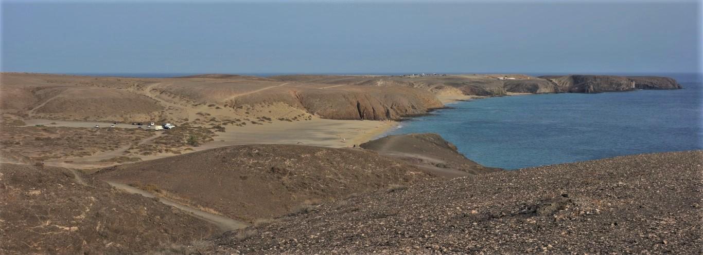 Místo historického osídlení na ostrově