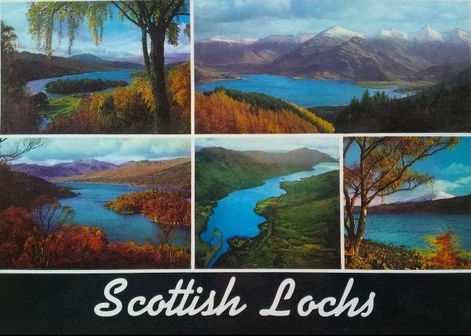 Skotská jezera