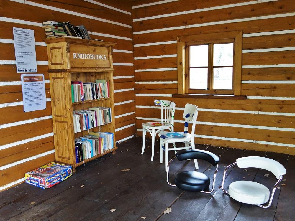 Krkonošská knihobudka ve Vrchlabí