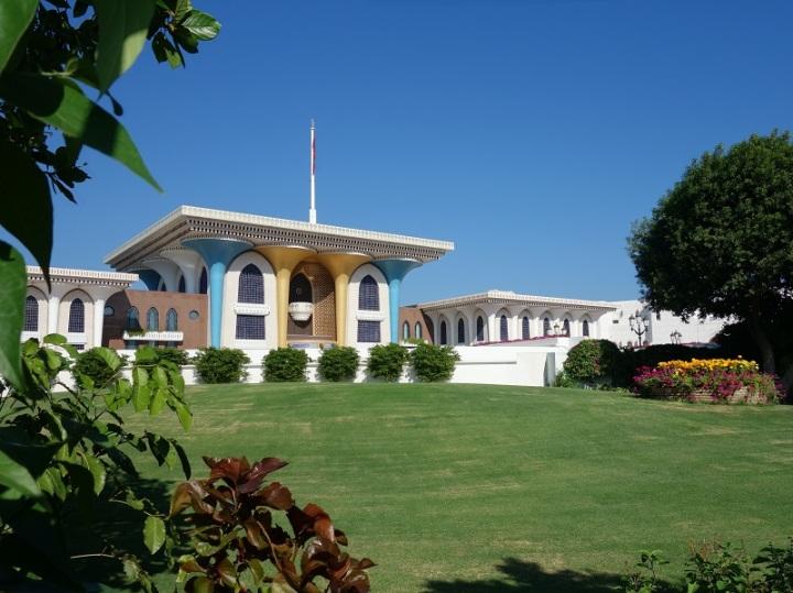 Sultánův palác v Muskatu
