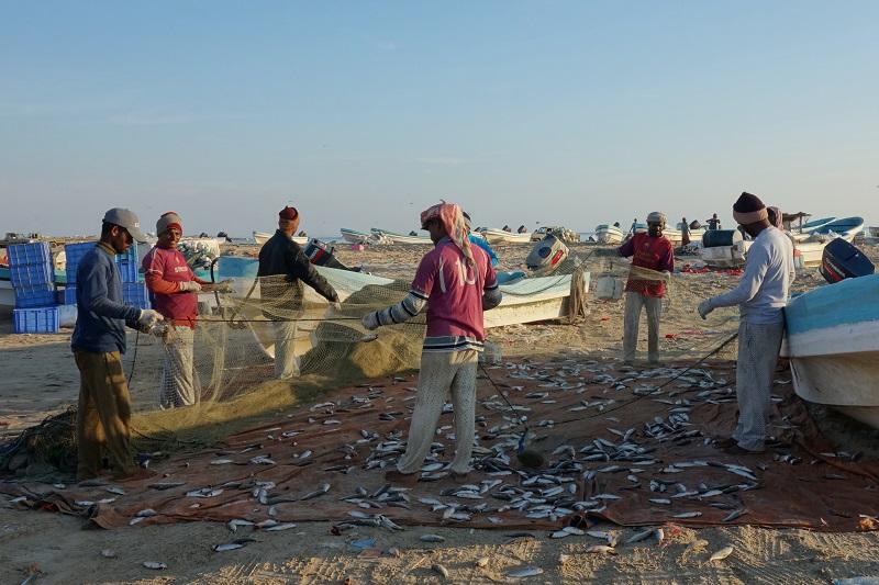 Rybáři z Bangladéše