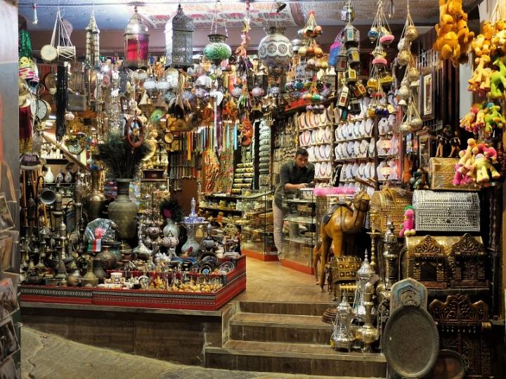 Bazar v Muscatu