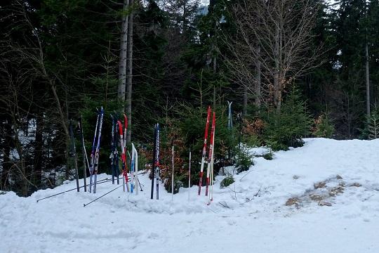 Běžkařské trasy v Krkonoších, konec stezky Buď fit