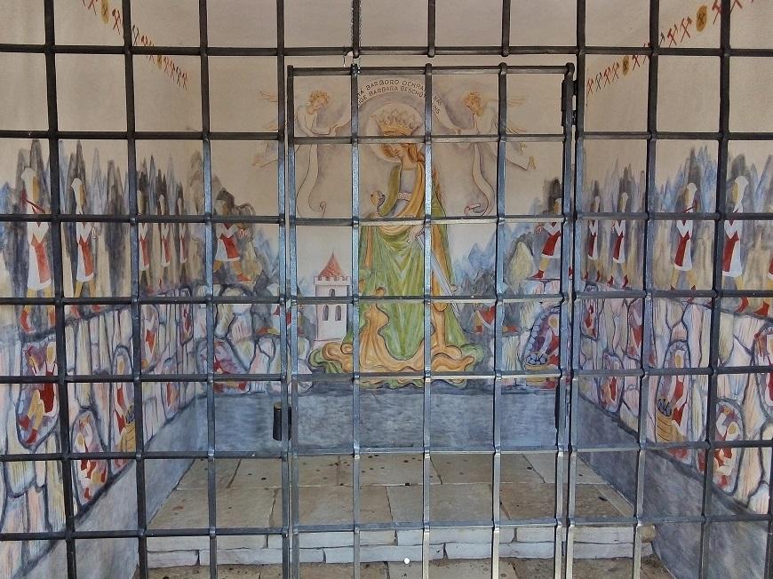 Kaplička sv. Barbory, Černý Důl