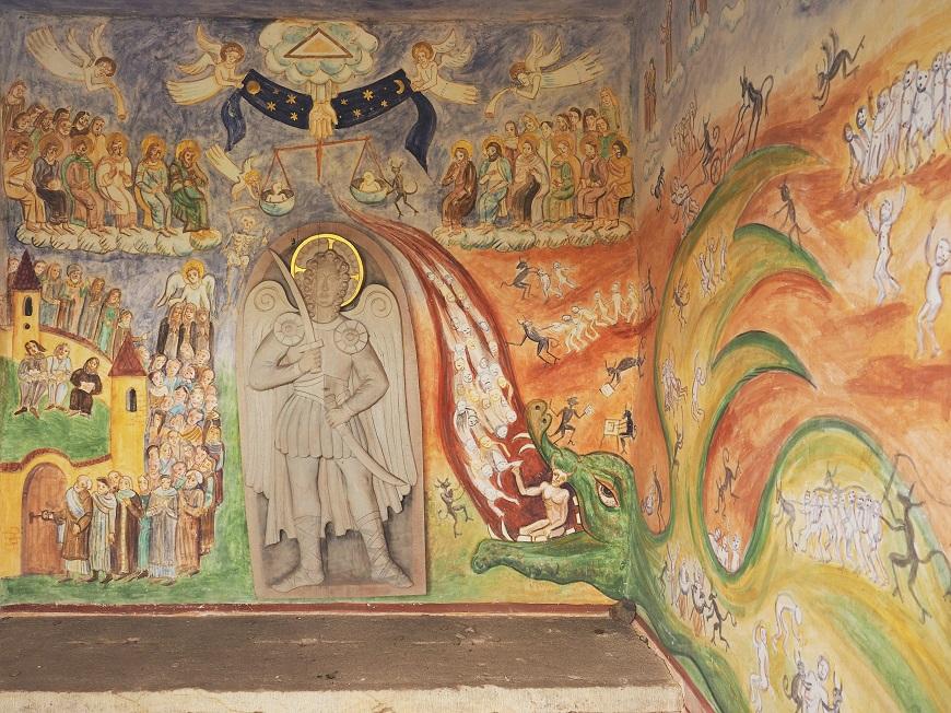 Kaplička sv. Michala, Černý Důl