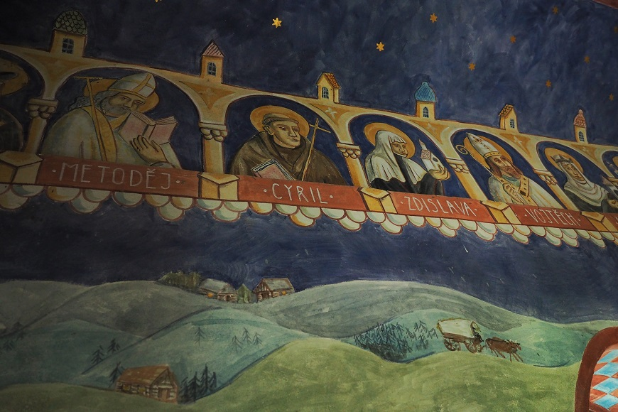 Kaplička Narození Páně v Horních Lysečinách